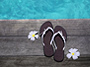 Flip Flops for My Escape to Paradise